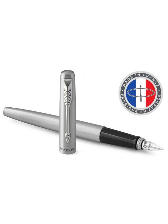 Ручка перьевая Parker Jotter Core F61 (2030946) Stainless Steel CT M перо сталь нержавеющая подар.кор.