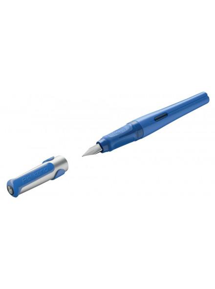 Ручка перьевая Pelikan School Pelikano (PL802901) синий M перо сталь нержавеющая для правшей карт.уп.