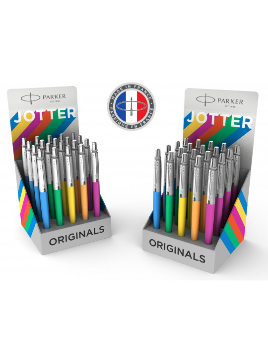 Ручка шариков. Parker Jotter Color (2075422) ассорти дисплей (20шт)