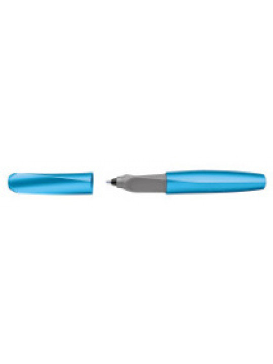 Ручка роллер Pelikan Office Twist Classy Neutral R457 (PL811279) Frosted Blue в компл.:картридж 2шт с синими чернилами