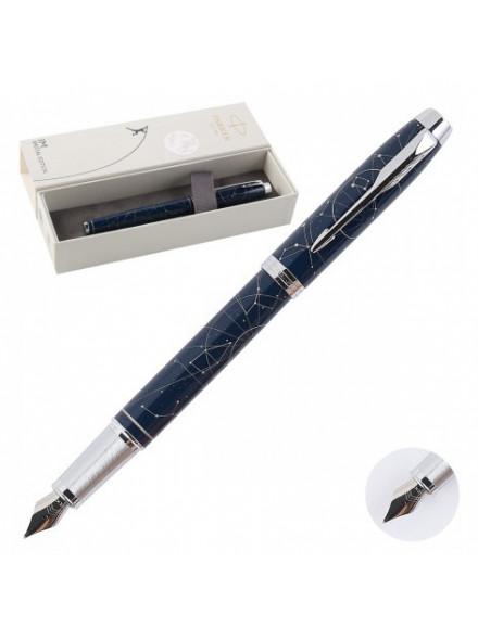 Ручка перьевая Parker IM Premium SE F325 (2074147) Midnight astral F перо сталь нержавеющая подар.кор.