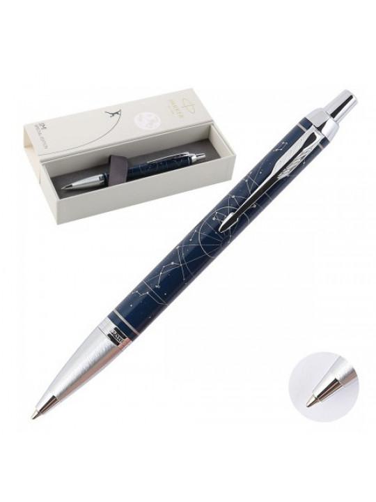 Ручка шариковая Parker IM Premium SE K325 (2074150) Midnight astral M синие чернила подар.кор.