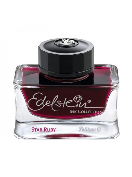 Флакон с чернилами Pelikan Edelstein (PL300780) Star Ruby чернила бордовые чернила 50мл для ручек перьевых