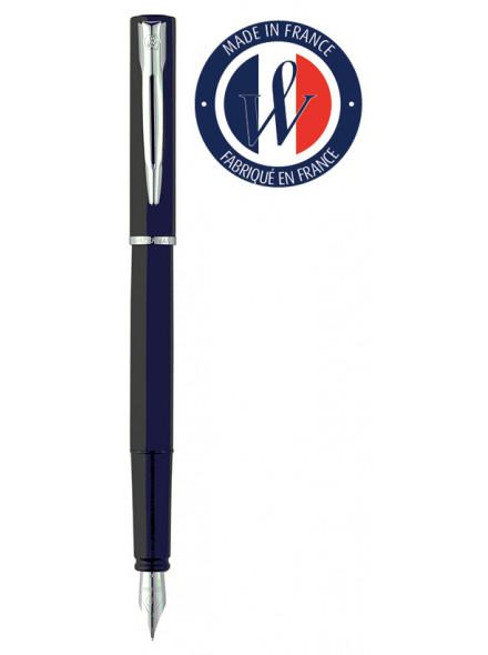 Ручка перьев. Waterman Graduate Allure (2068196) черный F сталь нержавеющая подар.кор.