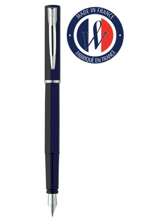 Ручка перьевая Waterman Graduate Allure (2068196) черный F перо сталь нержавеющая подар.кор.