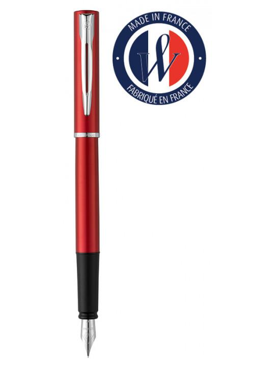 Ручка перьевая Waterman Graduate Allure (2068194) красный F перо сталь нержавеющая подар.кор.