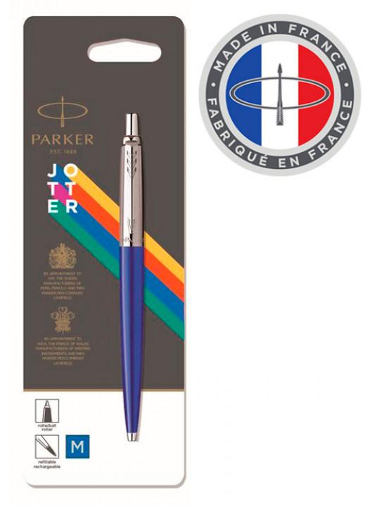 Ручка шариковая Parker Jotter Color (2076052) голубой M синие чернила блистер