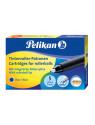 Картридж роллер Pelikan KM/5 (PL943399) синие чернила для ручек роллеров Twist (5шт)