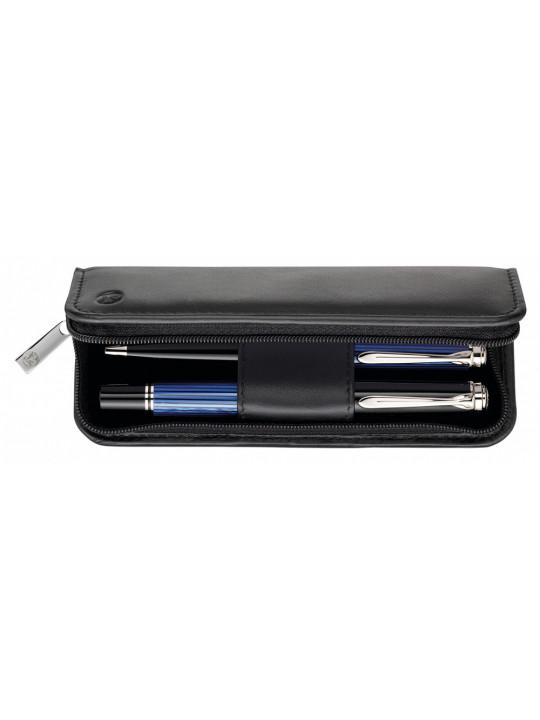 Футляр Pelikan TGX2N (PL958017) для 2х ручек черный натур.кожа