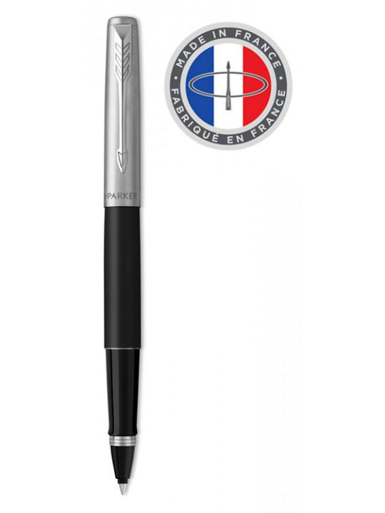 Ручка роллер Parker Jotter Core T63 (2089230) Bond Street Black CT черный/серебристый черные чернила подар.кор.