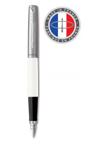 Ручка перьевая Parker Jotter Original F60 (R2096896) White CT F подар.кор.