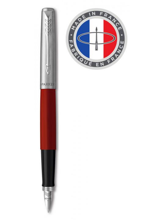 Ручка перьев. Parker Jotter Original F60 (R2096898) Red CT красный/черный F подар.кор.