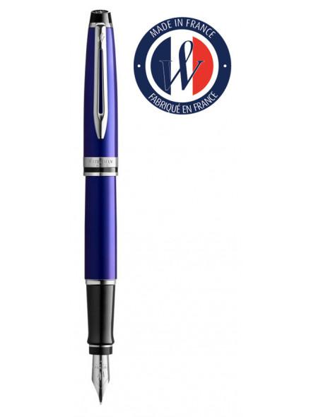 Ручка перьевая Waterman Expert 3 (2093456) Blue CT F перо сталь нержавеющая подар.кор.