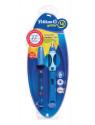 Ручка перьевая Pelikan School Griffix (PL927988) синий L перо сталь нержавеющая для левшей блистер