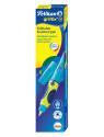 Ручка перьев. Pelikan School Griffix (PL809160) NeonFreshBlue A сталь нержавеющая для правшей карт.уп.