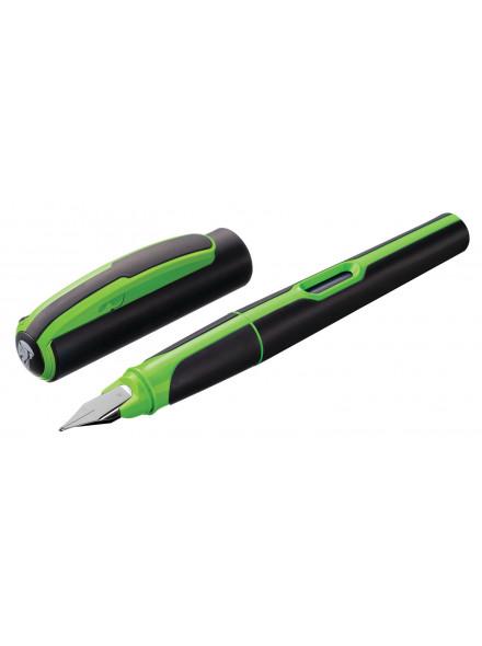 Ручка перьев. Pelikan Office Style (PL801256) черный/зеленый M карт.уп.