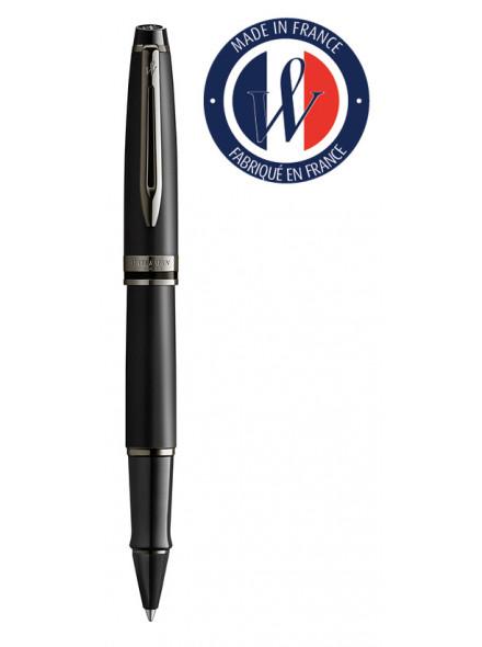 Ручка роллерн. Waterman Expert DeLuxe (2119190) Metallic Black RT подар.кор.