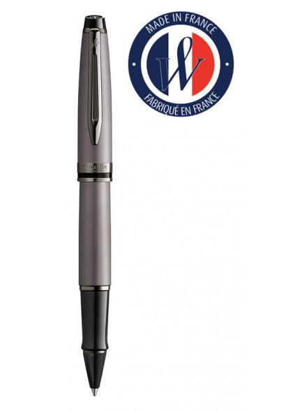 Ручка роллерн. Waterman Expert DeLuxe (2119255) Metallic Silver RT подар.кор.