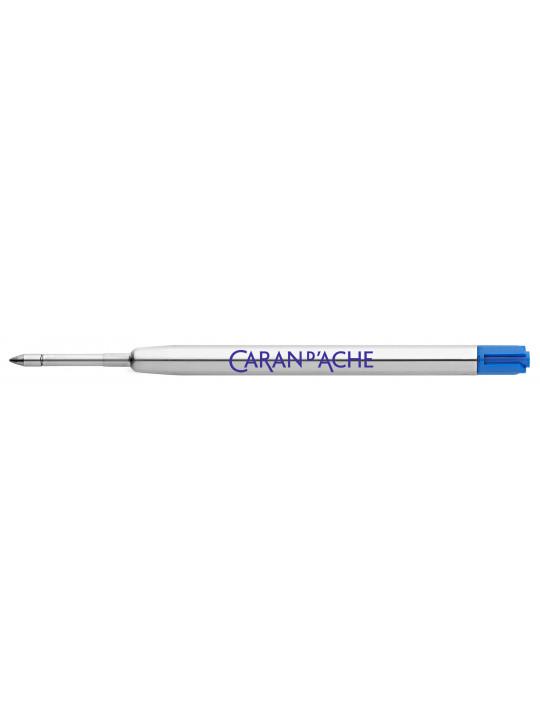 Стержень роллер Carandache (8462.000) M 0.8мм синие чернила для ручек роллеров 849