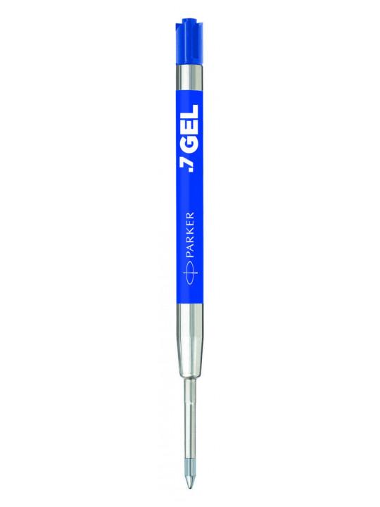Стержень гелевый Parker Quink GEL Z10 (2136210) M 0.7мм синие чернила блистер (2шт)