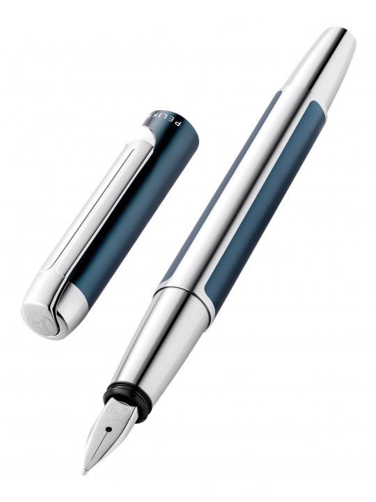 Ручка перьевая Pelikan Elegance Pura P40 (PL817158) Petrol F перо сталь нержавеющая карт.уп.