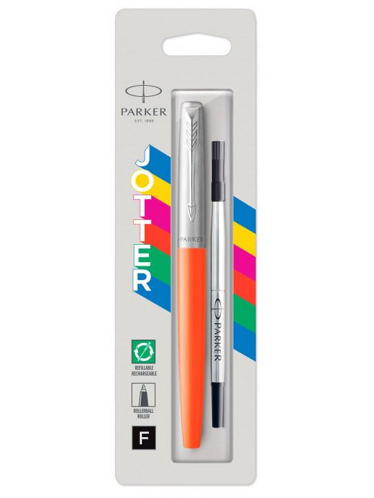 Ручка роллер Parker Jotter Original T60 (2096892) оранжевый черные чернила блистер