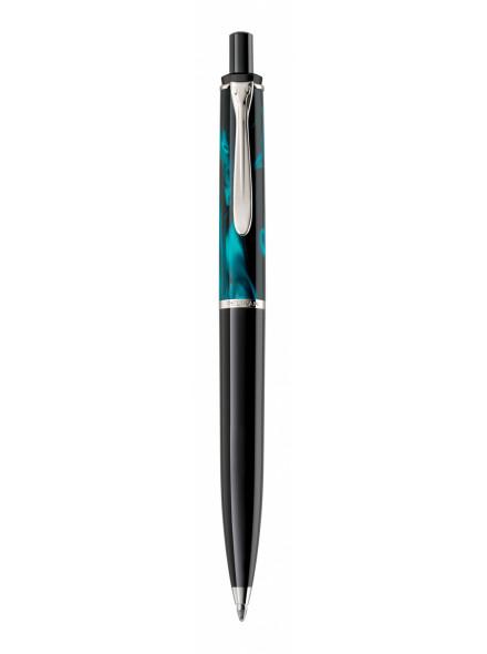 Ручка шариков. Pelikan Elegance Classic K205 Petrol-Marbled (PL818476) подар.кор.