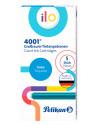 Картридж Pelikan School Ilo 4001 Giant GTP/5 (PL301503) бирюзовые чернила для ручек перьевых (5шт)