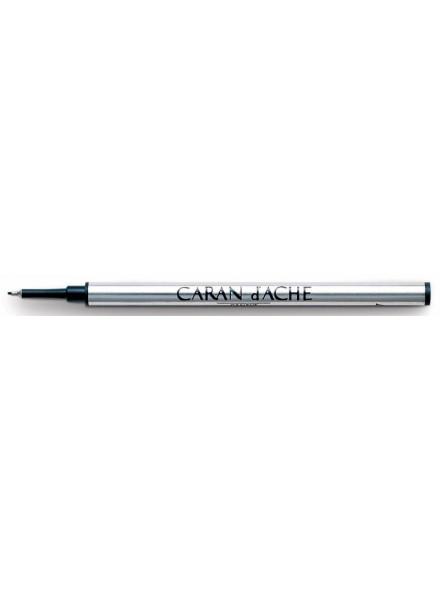 Стержень капилярный Carandache 8122.160 F 0.6мм синие чернила для ручек роллеров