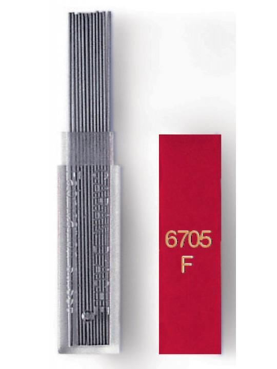Грифели Carandache (6705.350) 0.5мм для механических карандашей туба (12шт)