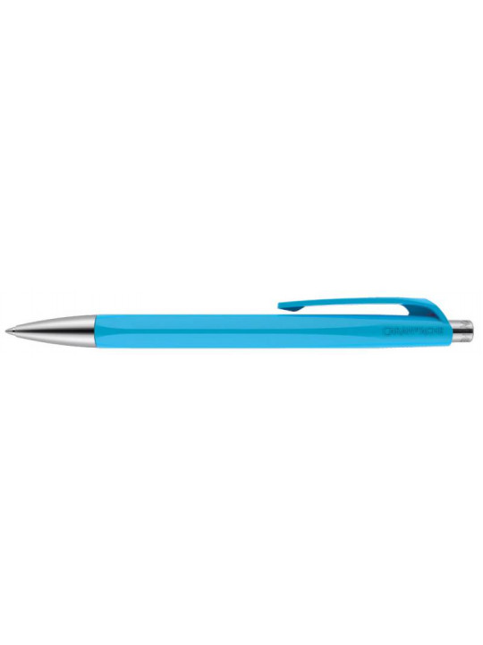 Ручка шариковая Carandache Office INFINITE (888.171) Turqoise Blue M синие чернила без упак.