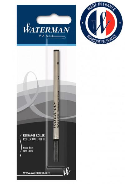 Стержень роллер Waterman Refill RB (1964019) F 0.5мм черный чернила блистер