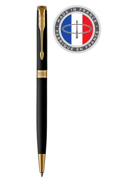 Ручка шариков. Parker Sonnet Core K528 (1931519) Matte Black GT подар.кор.