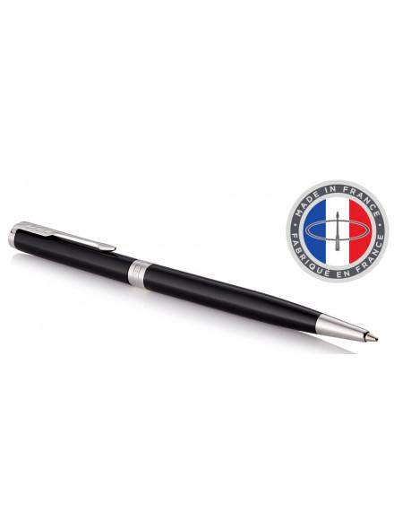 Ручка шариковая Parker Sonnet Core K430 Slim (1931503) LaqBlack CT M черные чернила подар.кор.