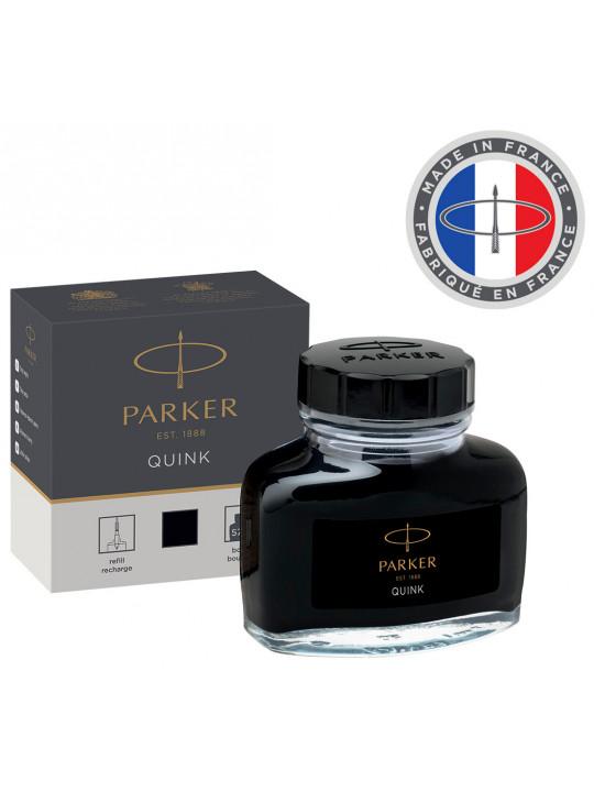 Флакон с чернилами Parker Quink Ink Z13 (1950375) черный чернила 57мл для ручек перьевых