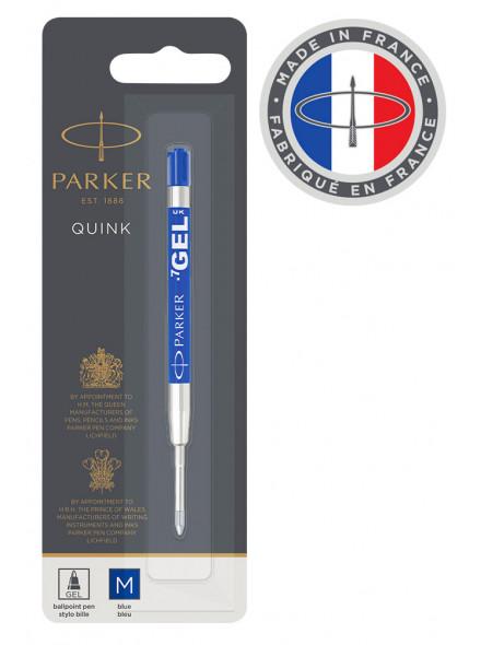 Стержень гелевый Parker Quink GEL Z05 (1950346) M синие чернила для ручек шариковых блистер