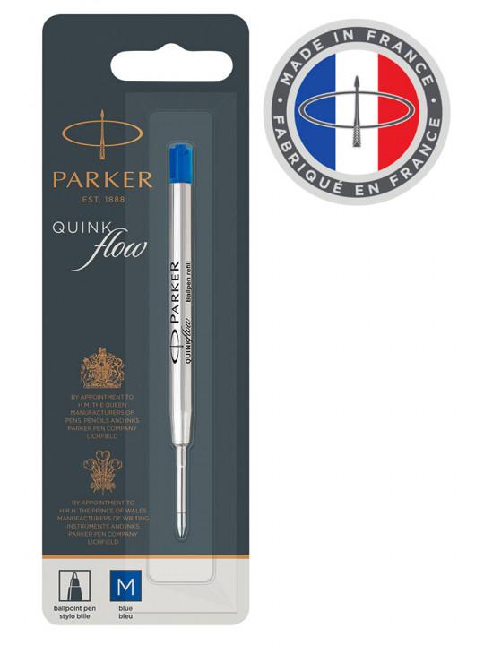 Стержень шариковый Parker QuinkFlow Z08 (1950371) M 1мм синие чернила блистер