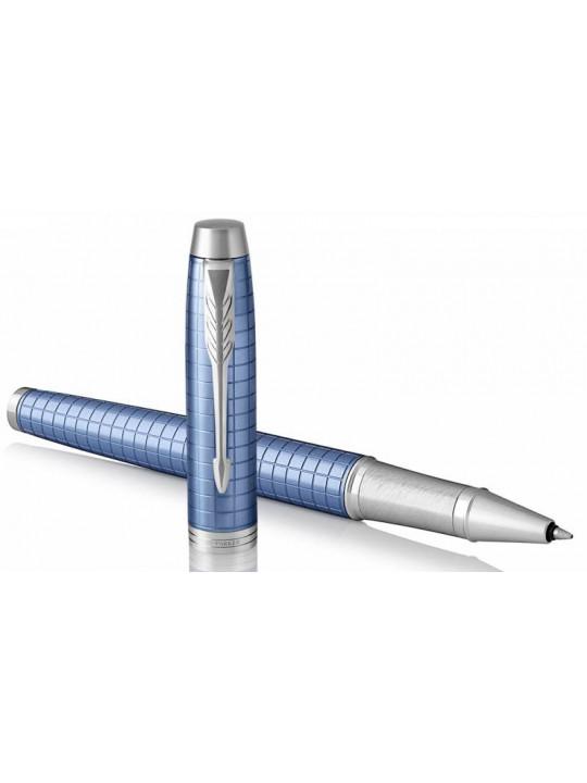 Ручка роллер Parker IM Premium T322 (1931690) Blue CT F черные чернила подар.кор.