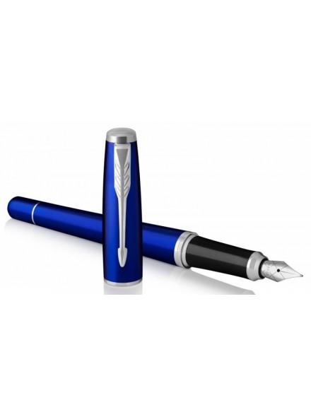 Ручка перьевая Parker Urban Core F309 (1931598) Nightsky Blue CT F перо сталь нержавеющая подар.кор.
