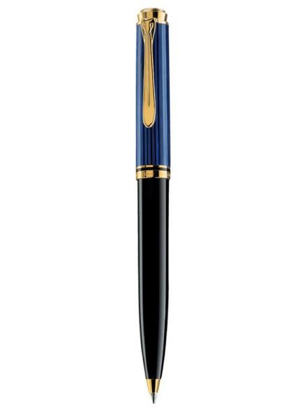 Ручка шариков. Pelikan Souveraen K 600 (PL996926) черный/синий подар.кор.