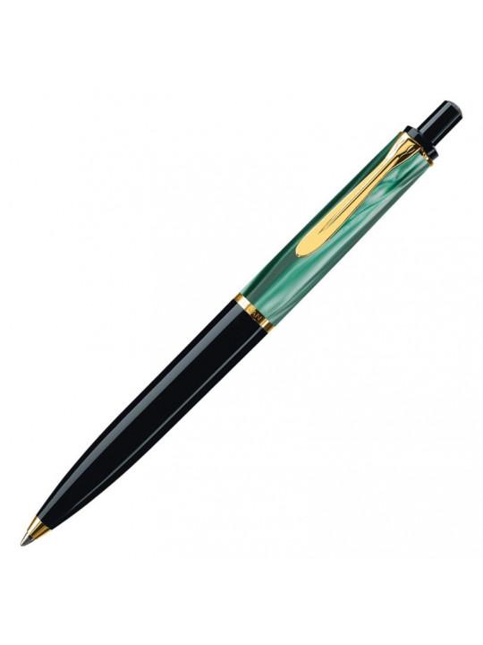 Ручка шариков. Pelikan Elegance Classic K200 (PL996694) Green Marbled подар.кор.