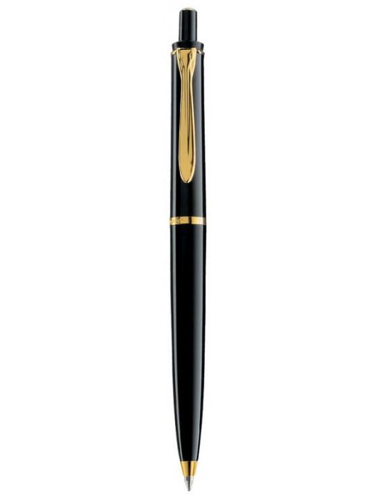 Ручка шариков. Pelikan Elegance Classic K200 (PL996686) черный/позолота подар.кор.