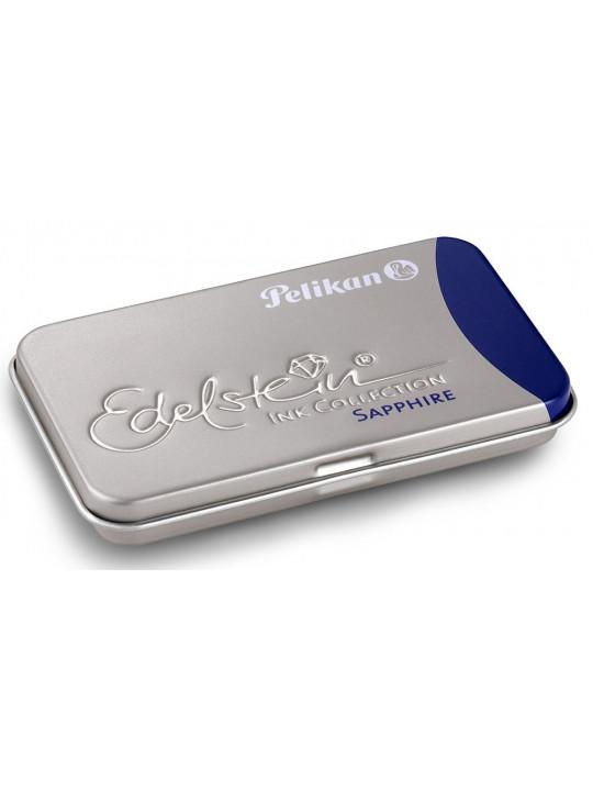Картридж Pelikan Edelstein EIBT6 (PL339630) Sapphire чернила для ручек перьевых (6шт)