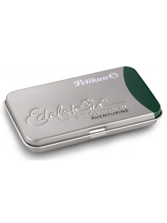 Картридж Pelikan Edelstein EIGRT6 (PL339671) Aventurine чернила для ручек перьевых (6шт)