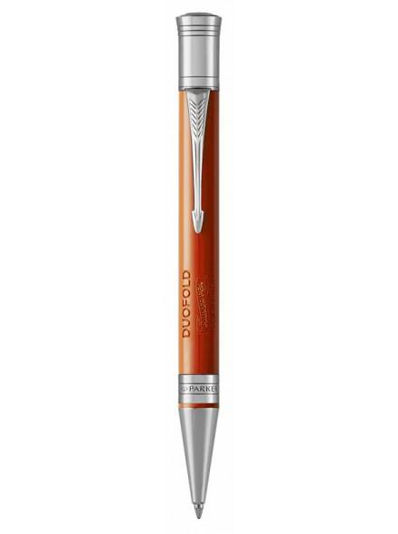 Ручка шариковая Parker Duofold K74 (1931379) Big Red CT M черные чернила подар.кор.