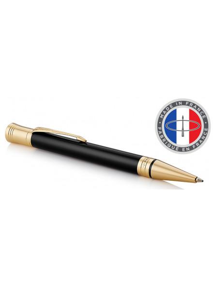 Ручка шариковая Parker Duofold K74 (1931386) Black GT M черные чернила подар.кор.
