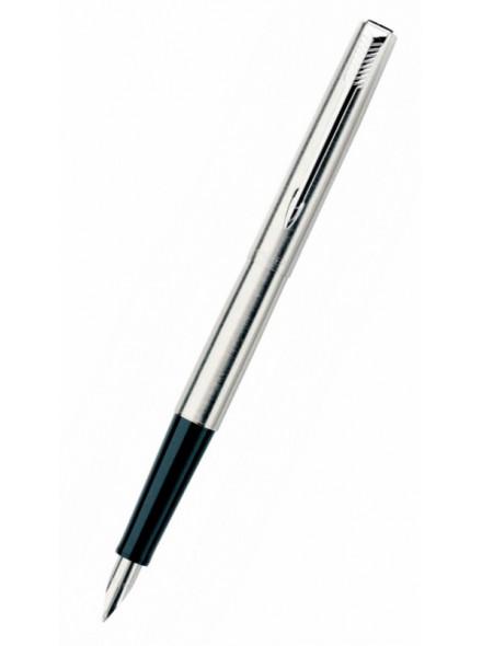 Ручка перьев. Parker Jotter Steel F61 (S0161590) Stainless Steel M сталь нержавеющая подар.кор.