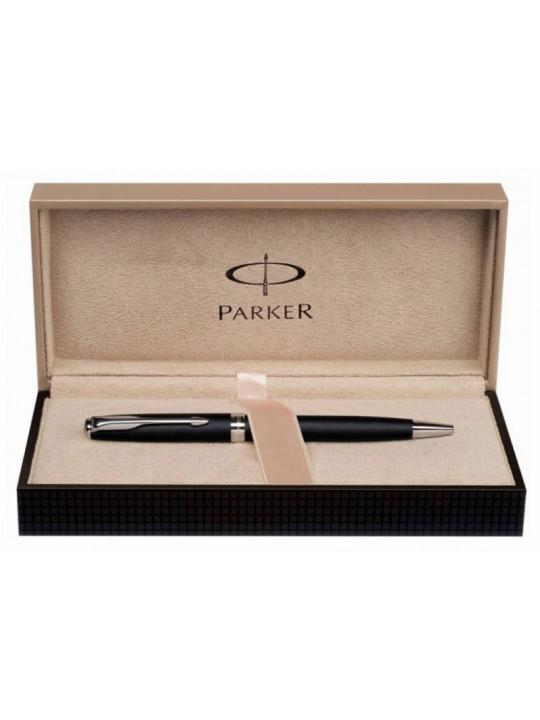 Ручка перьевая Parker Sonnet F540 (S0947310) Pearl Metal PGT F перо золото 18K с родиевым покрытием подар.кор.