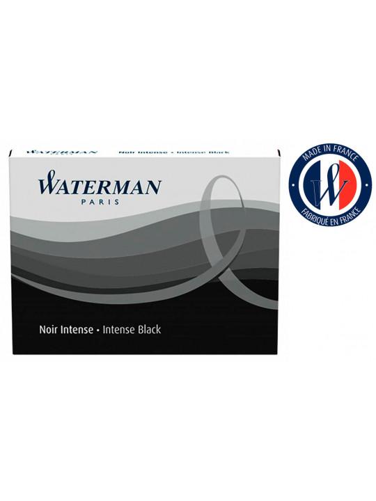 Картридж Waterman Standart (S0110850) черный чернила для ручек перьевых (8шт)