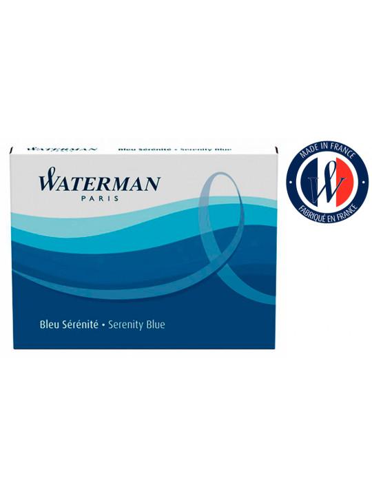 Картридж Waterman Standart (S0110860) синие чернила для ручек перьевых (8шт)